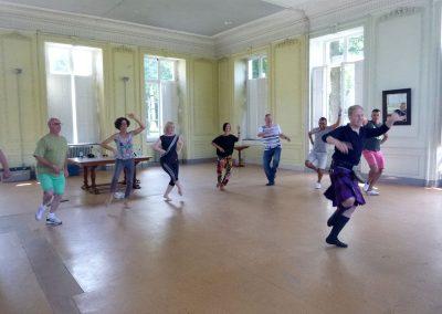 La danse écossaise