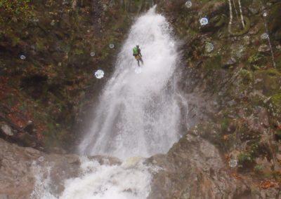 Hoge watervallen