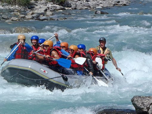 Canyoning and rafting  Ardennes