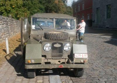 Front Minerva jeep
